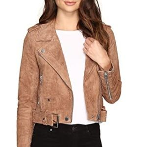 BlankNYC Brown Suede Jacket